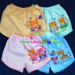 กางเกงเด็กแรกเกิดขาสั้น แพ็คครึ่งโหล 6 ตัว
