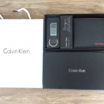 Calvin Klein Leather Wallet Set and Metal Clip Key *สินค้า outlet