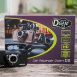 กล้องติดรถยนต์ Full HD 1080P DVR Dcam D2