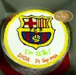 เค้กสโมสรบาร์เซโลน่า (Barcelona Cake)