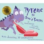 ฺBook Webcam Action! : Tyrone the Clean 'o' Saurus ไดโนเสาร์ไทโรน หนังสือพร้อม 3D Animation