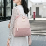 Axixi Leather with Flur Backpack 2017