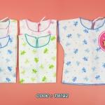 เสื้อผูกหลังเด็กแรกเกิด (แพ็ค 6 ตัว)