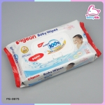 pigeon baby wipes sakura extract 60 แผ่น