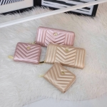 KEEP Richly Short & Long Zipper Wallet Pink & Gold Collection 2018