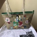 Love Moschino Italy Leather Bag #พร้อมรีวิวจากลูกค้าค่า #ขอบพระคุณมากนะคะ ^ ^