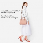 Charles & Keith Structured Handbag 4 สี