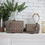 KEEP Florence Gold Rush Two Size Bag 2018 free ถุงผ้าแบรนด์ , ป้ายแบรนด์หนังแท้