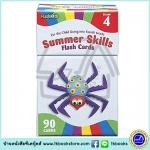 Flash Kids - Summer Skills Flash Cards : Grade 4 แฟลชการ์ด ความรู้สำหรับเด็กเกรด 4