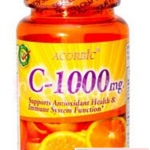 วิตามินซี Acorbic VITAMIN C-1000mg by JP Natural Cosmetic