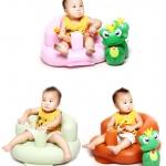 เก้าอี้หัดนั่งเด็ก แบบเป่าลม โซฟาส่วนตัวสำหรับวัยตั้งแต่ 3 เดือนขึ้นไป