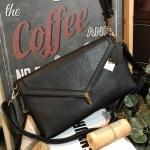 MARCS PUSH-LOCK CLUTCH BAG กระเป๋าถือหรือสะพายทรงคลัช