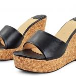 [สินค้าหมด] ไซส์ 40-43 รองเท้าแตะไซส์ใหญ่ แบบสวม ส้นเตารีด - KR0329