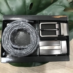 CALVIN KLEIN Genuine Leather Belt Value Pack Limited Edition free กล่องและถุงแบรนด์