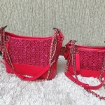 Gabrielle Tweed 2 Size Cherry Red Color