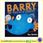 Sue Hendra : Barry The Fish With Fingers - Book And CD นิทานปกอ่อนพร้อมซีดี ปลาแบรี่ ซู เฮนดรา