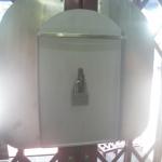 อุปกรณ์แผ่นบังกุญแจประตูเหล็กหน้าบ้าน ชิ้นงานทำด้วยเหล็ก