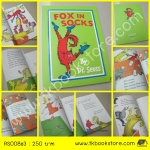 Fox in Socks by Dr. Seuss หนังสือนิทาน ดร.ซูสส์ ปกอ่อนเล่มโต