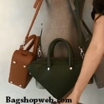 Genuine Leather Inspired balenciaga triangle bag : Small 24 cm