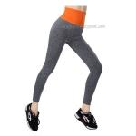 กางเกงออกกำลังกาย ผู้หญิง เล่นฟิตนิส โยคะ ขายาว - สีส้ม