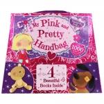 My Pink And Pretty Handbag - 4 Activity Books หนังสือกิจกรรมสำหรับเด็กหญิงพร้อมกระเป๋ากระดาษ