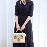 Lady Woven Handbags 2017