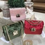 CHARLES & KEIH Embellished Buckel 2018 มี 5 สีค่ะ free ถุงผ้า