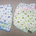 กางเกงเด็กแรกเกิดขาสั้น แพ็คขายส่ง