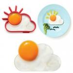 แม่พิมพ์ซิลิโคนทอดไข่ดาว รูปดวงอาทิตย์กับเมฆ Nana Baby