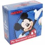 Mini Board books Set : Disney Mickey My Little Storybook Library : มินิบอร์ดบุ๊คส์ 6 เล่ม มิกกี้เมาส์