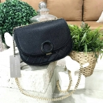 CHARLES & KEITH Circular Buckle Crossbody * สินค้า outlet
