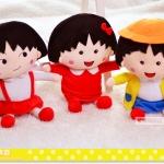 ตุ๊กตาติดกระจก มารุโกะ ยกชุด 3 ตัว