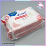 baby wipes antibacterial70x2 แพ็ค 70 ชิ้น ซื้อ 1 แถม 1