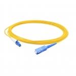 SC to LC Fiber Simplex Patch Cord