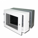 "PW-6406ตู้19"" Wall Mount Export Rack 6U (60*40 cm.) สูง 35 cm."