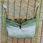 Spider เปลญวนผ้าคอตตอลก้นกว้าง เขียว-ทองเลอค่า