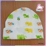 หมวกเด็กอ่อน size 0-6 เดือน (ขายแพ็ค 12 ใบ)