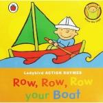 Ladybird Action Rhymes : Row Row Row Your Boat บอร์ดบุ๊คส์ Sing-along เพลงเด็ก