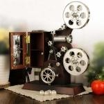 กล่องดนตรีเครื่องฉายหนัง Projector Music box