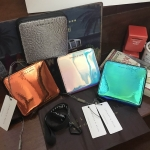 Charles & Keith Basic Square Short Wallet free ถุงผ้า *สินค้่า outlet
