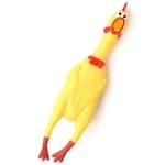 ไก่ยางของเล่น บีบตัวมีเสียง ขนาดสูง 1 ฟุต