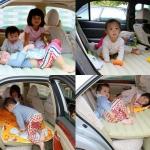 ที่นอนในรถยนต์ เปลี่ยนเบาะหลังรถให้เป็นเตียงนอน Car Bed