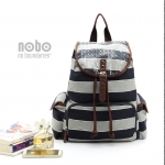 NOBO Navy Stripe Backpack by Walmart