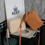 KEEP Quited Box clutch&shoulder bag