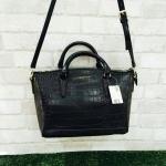 HOT PROMOTION-กระเป๋าถือ/สะพายหนัง Mango Croc Tote Bag MANGO TOUCH