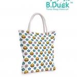 กระเป๋าผ้าสะพายข้าง เป็ด B.Duck