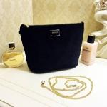 กระเป๋า Chanel Velour Cosmetic Crossbody bag ราคา 1,090 บาท บาท ส่ง Ems Free