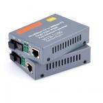 Media Converter Link 25 KM HTB-3100AB 10/100M RJ45 Single Mode SC