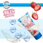 Bio Skin Strawberry Milk Collagen Facial Foam
