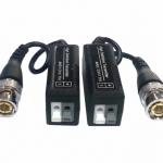 Balun บาลันสำหรับกล้องวงจรปิด AHD / HDCVI / HDTVI 300 ม. (BLACK)